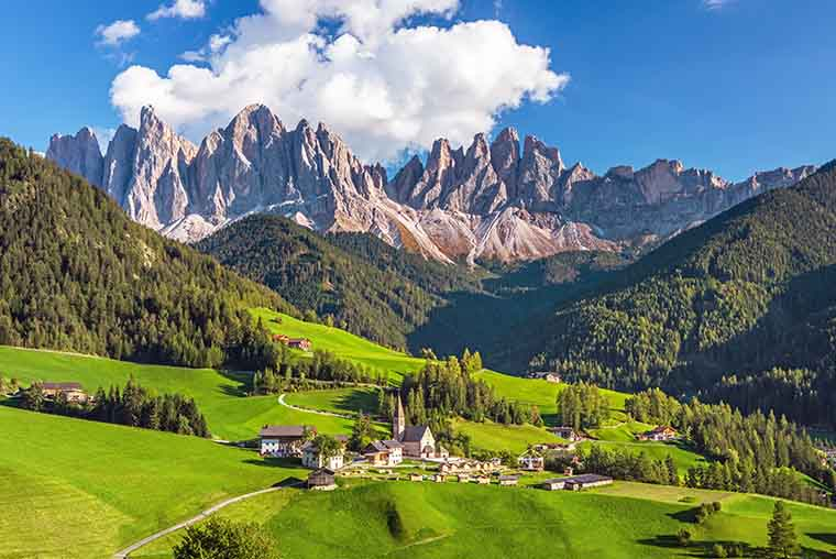 Val di Funes in Dolomites with Santa Maddalena Church- Is it worth a visit? How much time does it take? How to get there? When to go for best visit