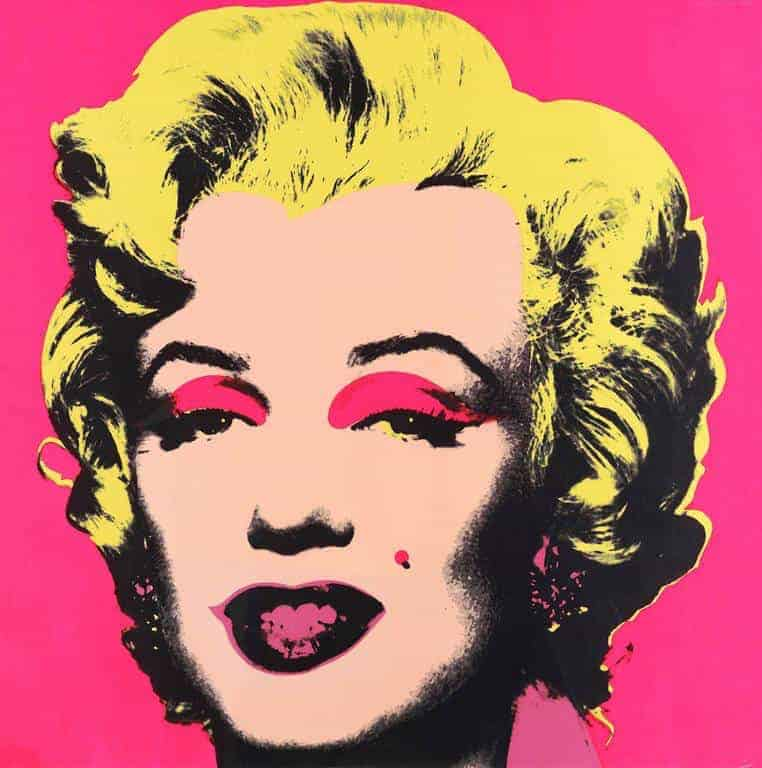 Marilyn (1967) by Andy Warhol
