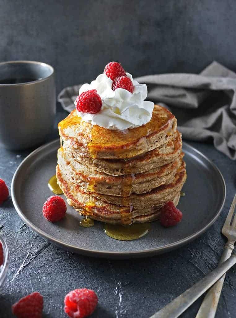 Easy Oatmeal Pancakes (Gluten Free)