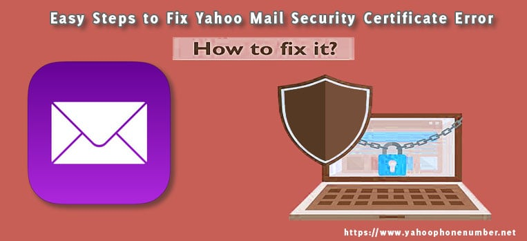 Easy Steps to Fix Yahoo Mail Security Certificate Error