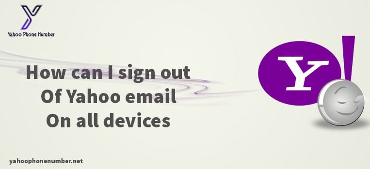 How can I sign out of Yahoo email on all devices