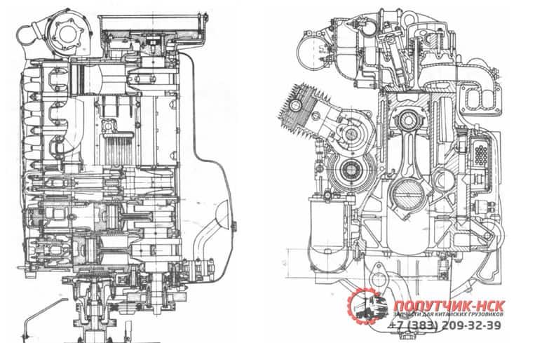 Руководство по эксплуатации дизельных двигателей серии WD615