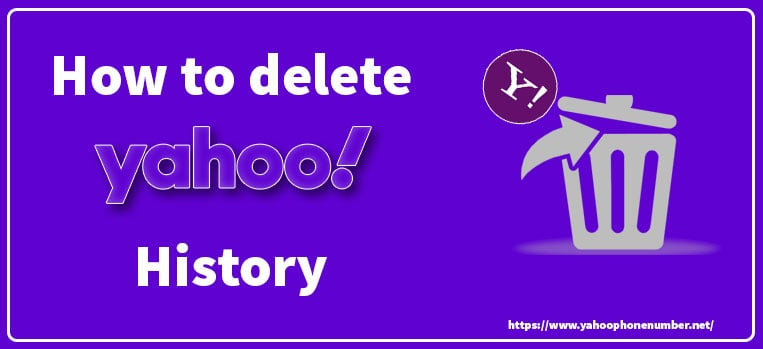 How to delete Yahoo History