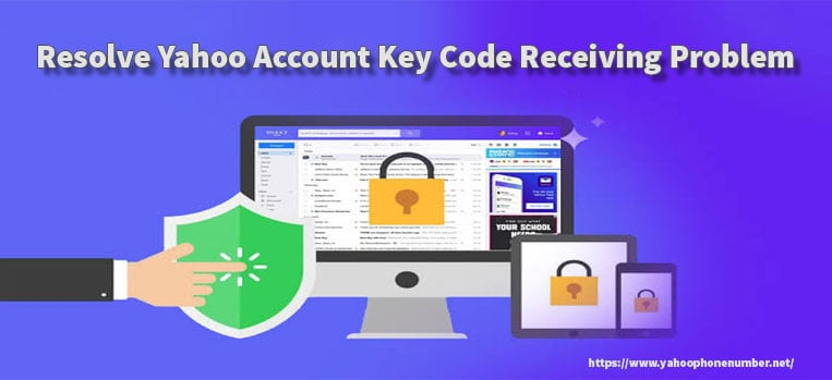 Resolve Yahoo Account Key Code Receiving Problem
