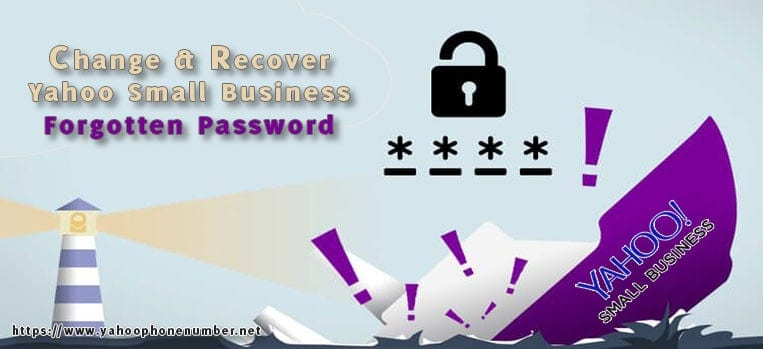Change & Recover Yahoo Small Business Forgotten Password