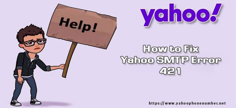 How to Fix Yahoo SMTP Error 421