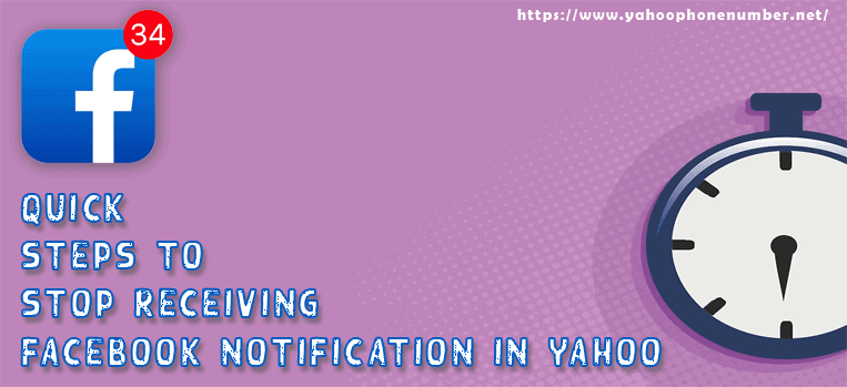 Quick Steps to Stop Receiving Facebook Notification in Yahoo