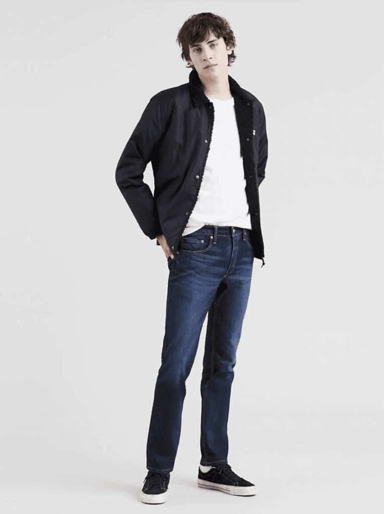 511™ Slim Fit Stretch Jeans | Levis | OPAS Blog | October Shopping Trends