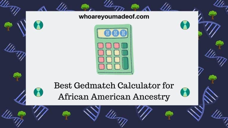 Best Gedmatch Calculator for African American Ancestry
