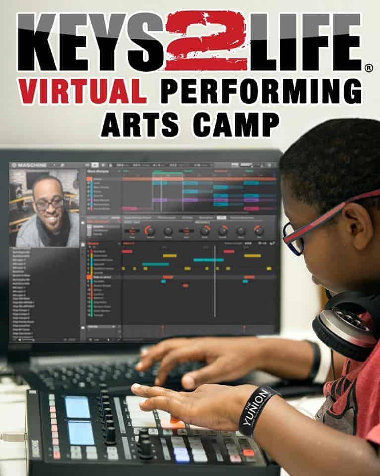 Keys 2 Life Virtual Performing Arts Summer Camp