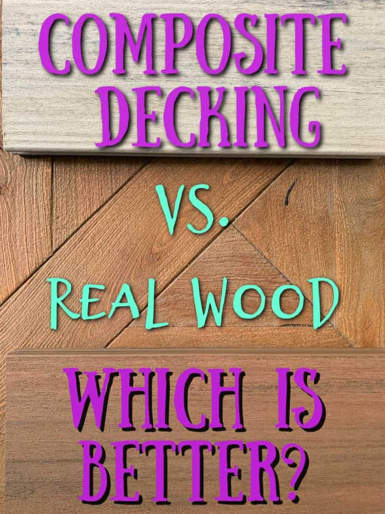 composite decking vs real wood