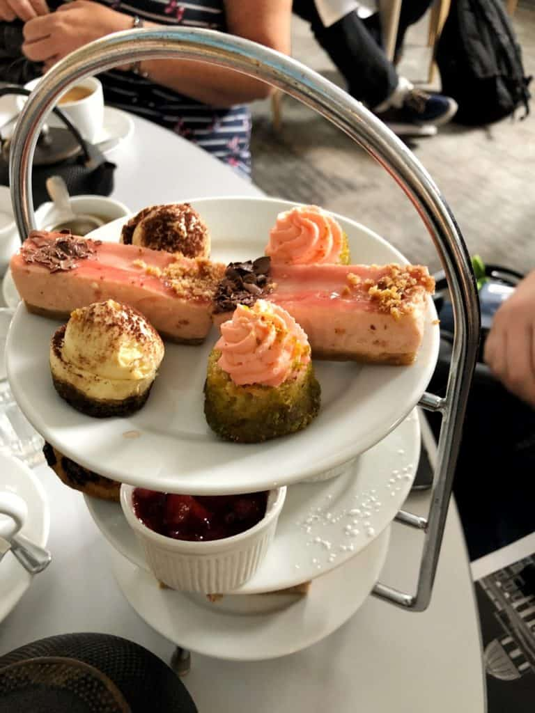 Afternoon Tea at the National Cafe