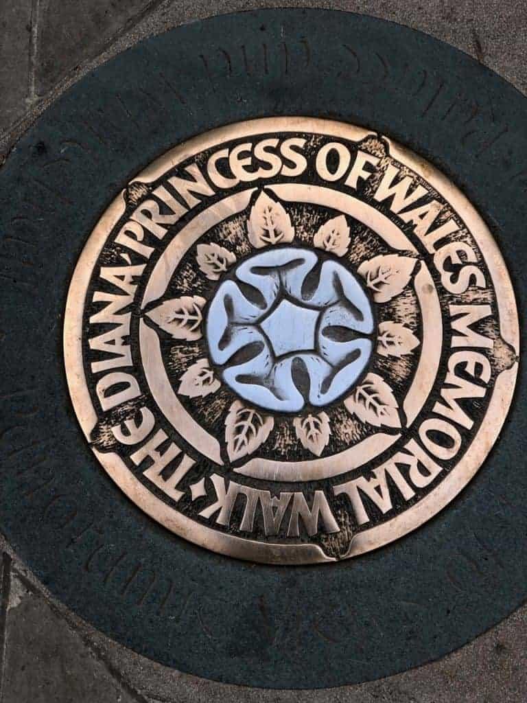 Princess Diana Memorial Walk