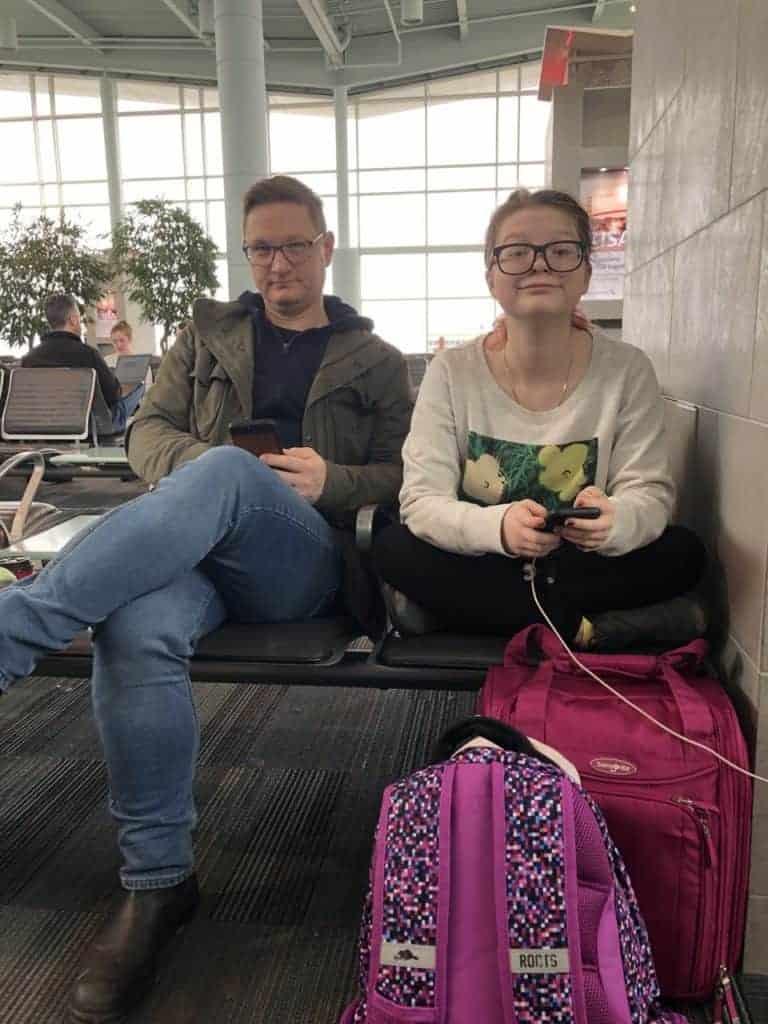 Halifax Airport San Juan to NOLA Disney Wonder