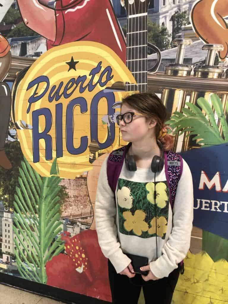 Arriving in Puerto Rico San Juan to New Orleans Disney Wonder