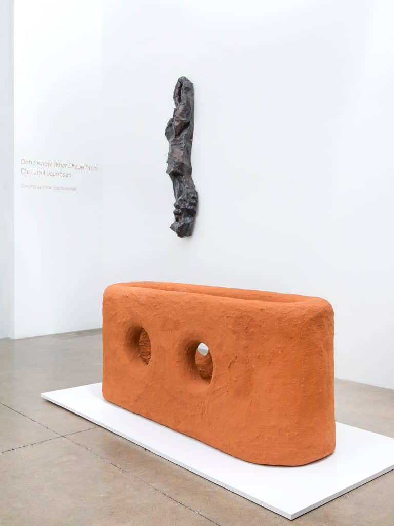 Carl Emil Jacobsen solo exhibition Don't Know What Shape I'm In at Patrick Parrish Gallery.