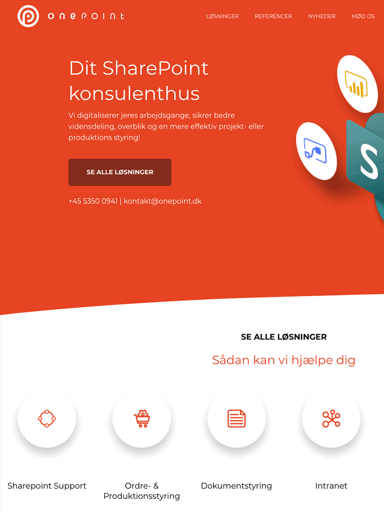 Screenshot OnePoint
