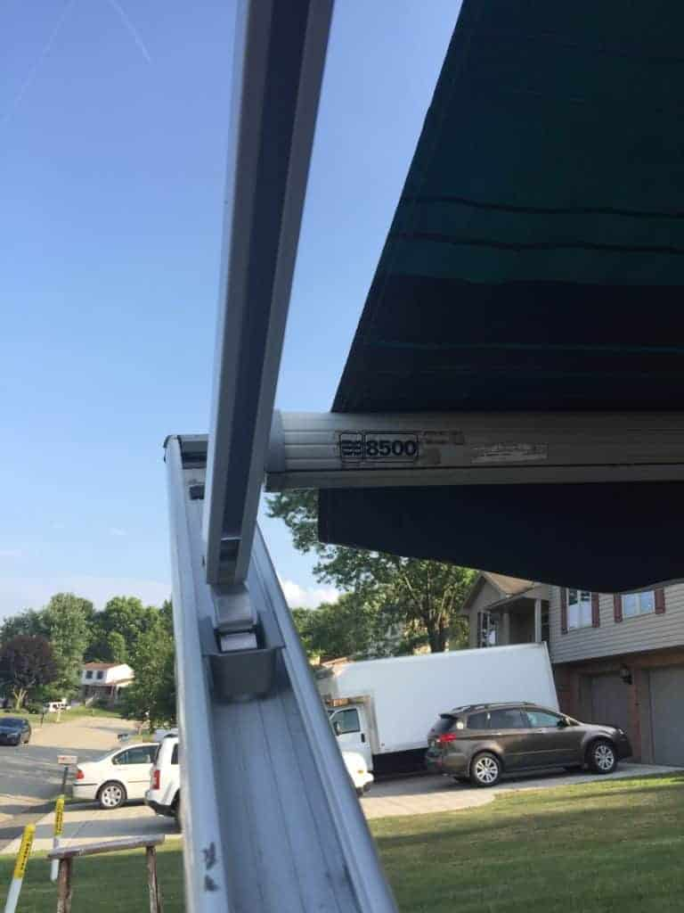 rv awning repair arm finished 1