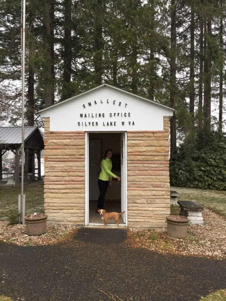 smallest mailing office west virginia