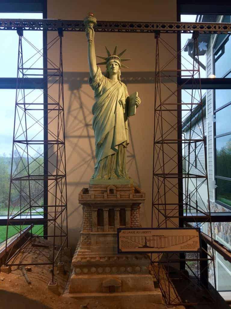Kinzua State Park History- Lady Liberty