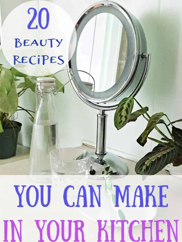 20  DIY Beauty Hacks using household items