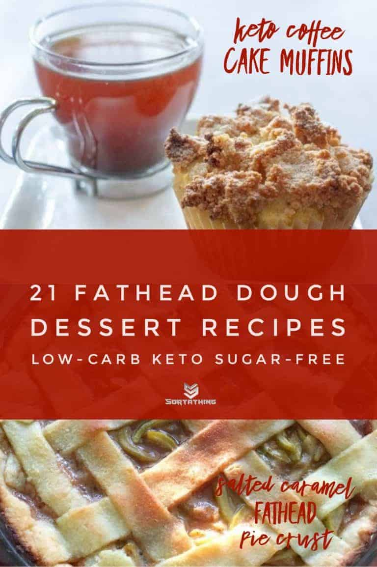 Keto Coffee Cake Muffins & Salted Caramel Fathead Pie Crust