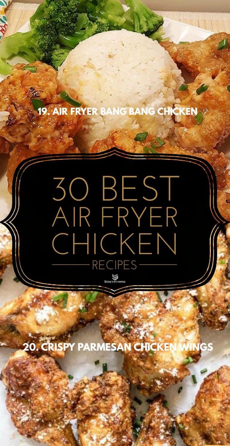 Air Fryer Spicy Bang Bang Chicken