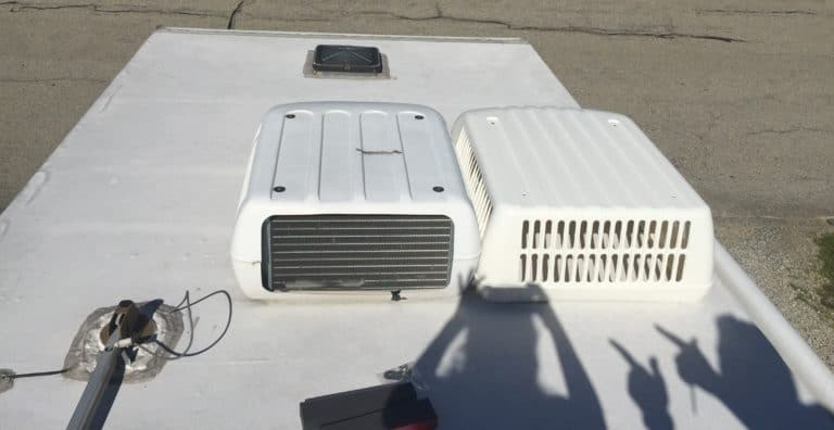old vs new air conditioner shroud