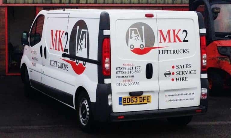 MK2 Lift Trucks Forklift Service and Maintenance
