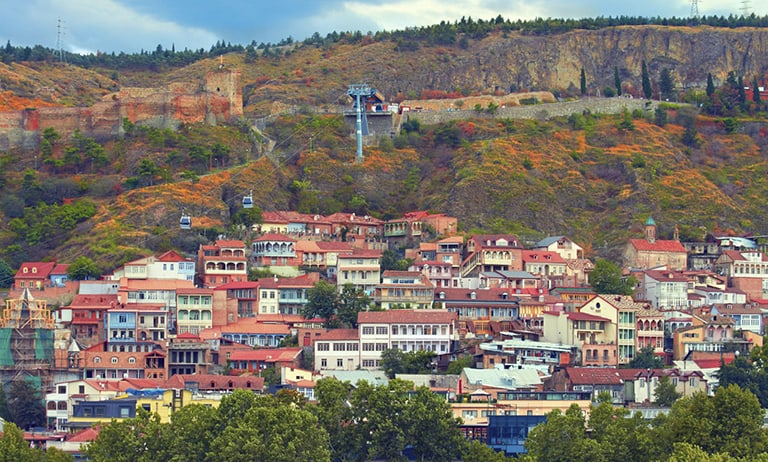 attractions in Georgia: Old Twon