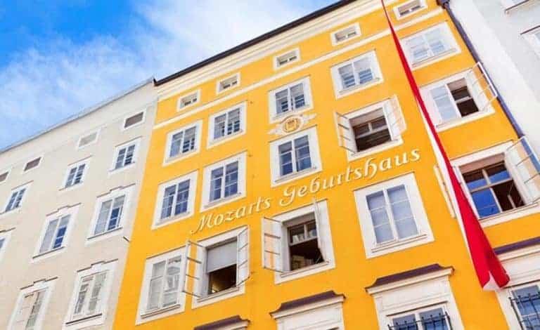 Que ver en Salzburgo (Austria) Casa de Mozart