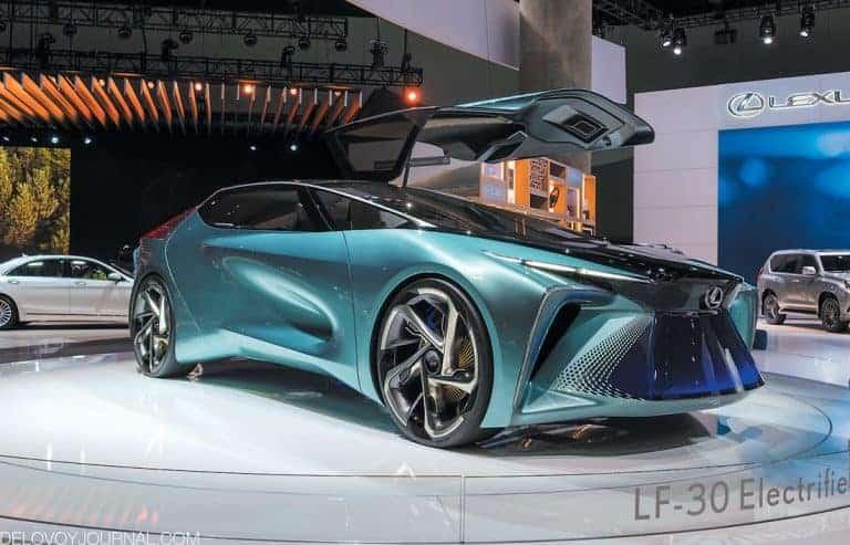 LEXUS LF-30 concept — мечты об электрическом будущем становятся реальностью