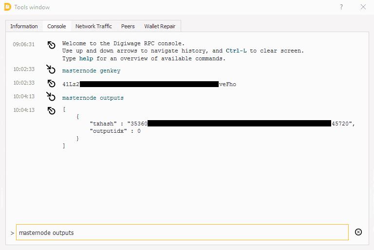 Digiwage Windows VPS Masternode Setup