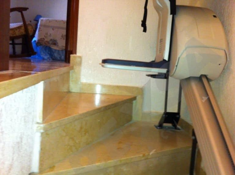 Silla salvaescaleras elevador de escaleras