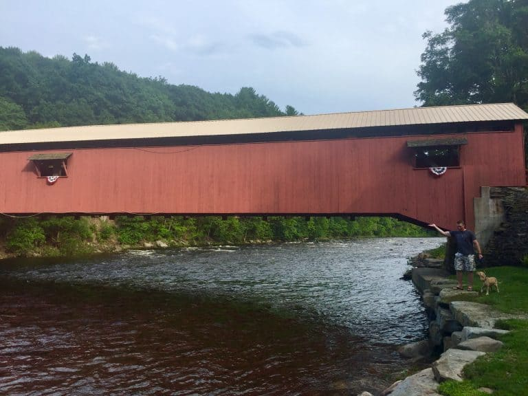forksville covered bridge 1
