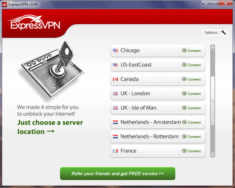VPN for Windows.
