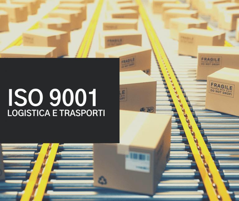 iso 9001 logistica e trasporti