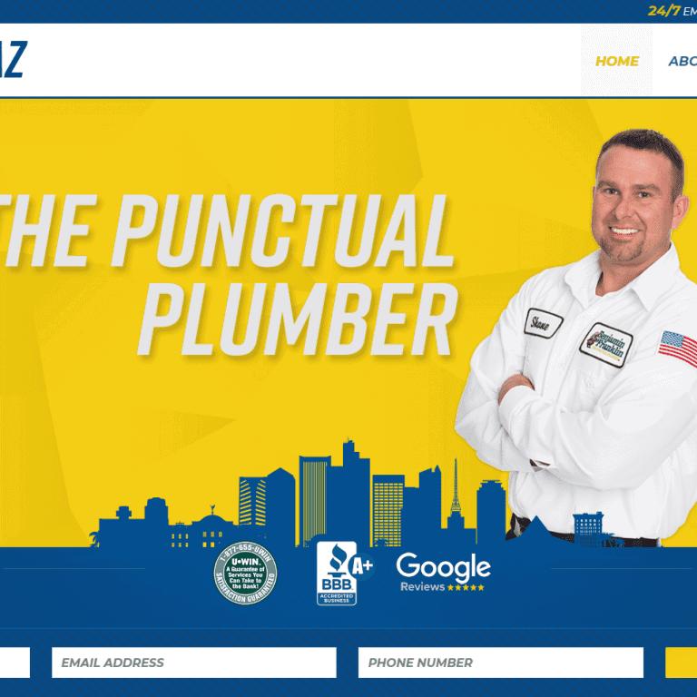 Plumbing Plumbing Company Web Design