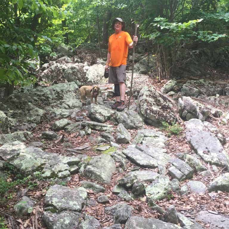 cowans gap tuscarora trail uphill