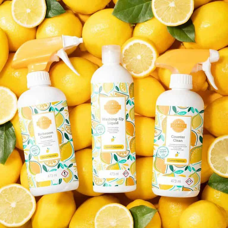 Lemon squeeze scentsy clean products
