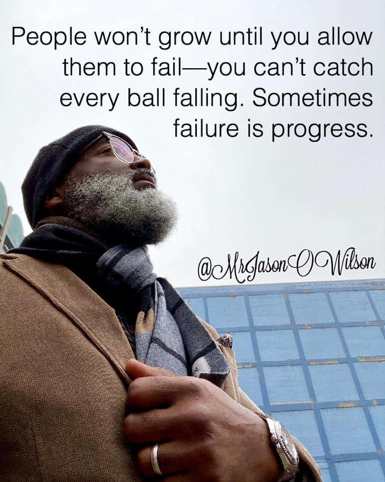 Sometimes failure is progress
