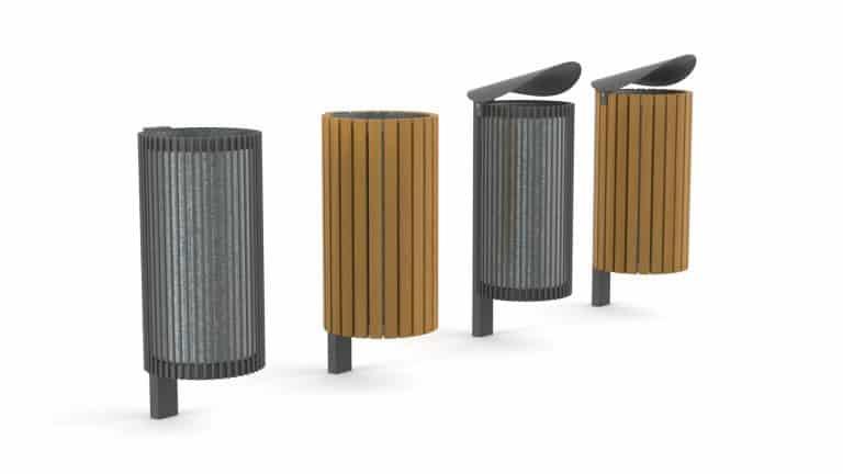 Urbania Abfallbehälter Tubo 1