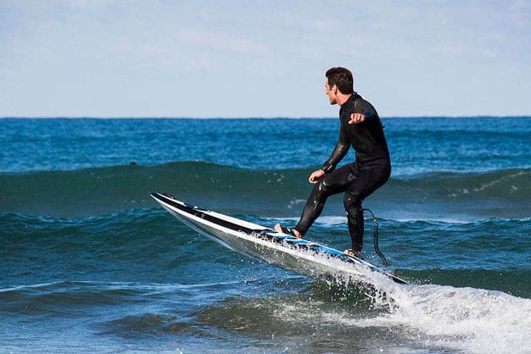 Onean Carver Electric Jetboard jumping waves