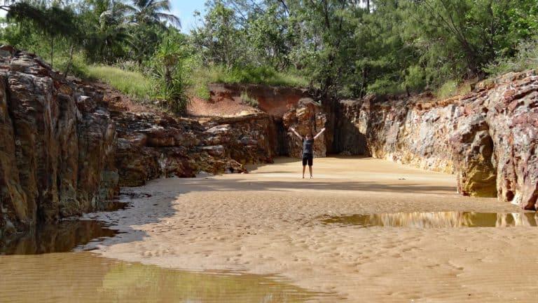 Dripstone Cliffs in Darwin