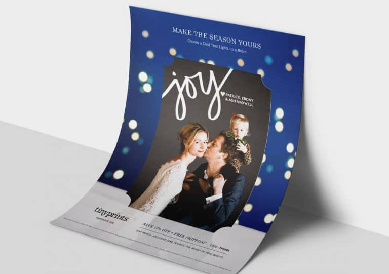 Tiny Prints Make The Season Yours Flyer - Creative Banding Agency - Citizen Best