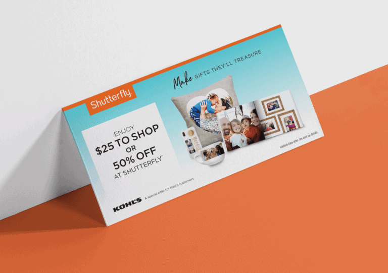 Shutterfly $25 To Shop or 50% Off Flyer - Creative Digital Agency - Citizen Best