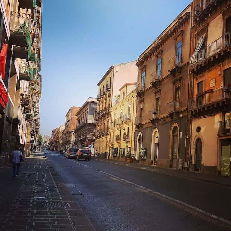 Catania Sicily Italy