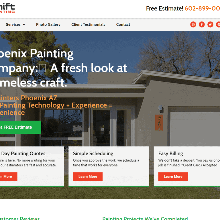 Home Services Web Design