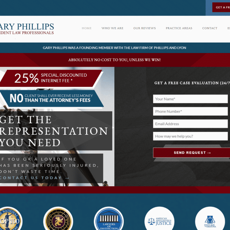 Lawyer Attorney Law Firm Practice Web Design