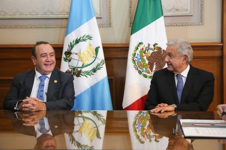 Presidentes México y Guatemala